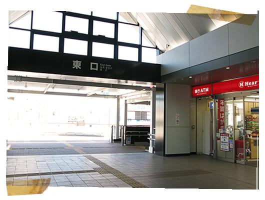 和泉府中駅東口;アノアデザインのMTG+α